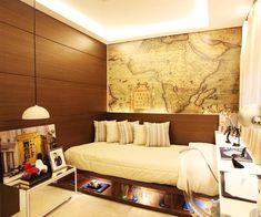 Mapas são ótimos elementos de decoração; veja como usá-los - Casa e Decoração - UOL Mulher
