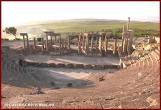 Dougga / Thugga, Gouvernat de Beja, Tunisia. Inscription in 1997. Criteria: (ii)(iii)