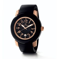 Folli Follie Urban Spin Watch ($280) ❤ liked on Polyvore