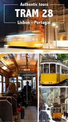 Tram 28 in Lisbon - Portugal, with its 4.5 miles route between Martim Moniz square and Prazeres, rumbles through the prettiest and historic streets in this city. It takes you to the sophisticated Chiado and Baixa, continuing to the cobbled hills of Alfama