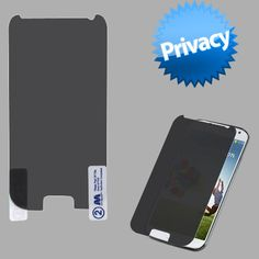 MYBAT Screen Protector for Galaxy S4 i9500 - Privacy