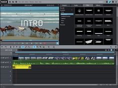 Creating intros and outros with Movie Edit Pro