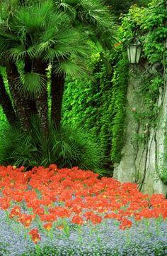 Lake Como Village Gardens, Italy