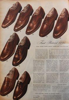 c6565fe8b63 1950s Men s Fashion History for Business Attire. 1950s Mens Shoes60s ...
