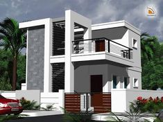 Image Result For Elevations Of Residential Buildings In Indian Photo  Gallery · Indian Home DesignHome Designs ExteriorIndependent HouseDuplex ...