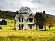 Rural backroads Photography | Old Farm House Kentucky Back Roads - Country Roads Photo by Lyle ...
