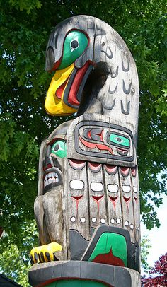 part of a totem pole
