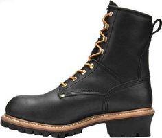 Carolina 8 Plain Toe Logger CA825 (Men's) Logger Boots, Fashion Boots, Men's Fashion, Designer Boots, Combat Boots, Man Shop, Knives, Leather, Shoes