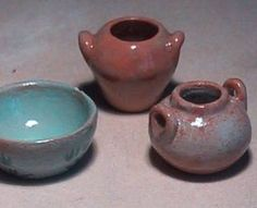 air dry clay pottery