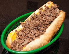 Authentic Philly Cheesesteak Recipe Here is an official Philly cheesesteak recipe based off of Jim's steaks on South St. in Philly. This is an authentic philly cheesesteak recipe. Philly Cheese Steaks, Authentic Philly Cheese Steak Recipe, Steak And Cheese Sub, Homemade Philly Cheesesteak, Cheesesteak Recipe, Food Truck, Outdoor Griddle Recipes, Steak Sandwich Recipes, Steak Sandwiches