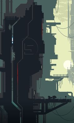 'Tagonis Refinery Depths' [Pixel Version] by Unlimited--power