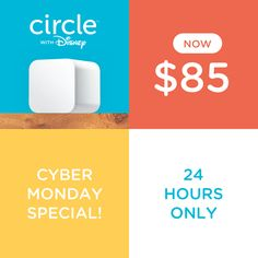 I'm so excited to FINALLY reveal an amazing Cyber Monday deal and an even better product. Check out Circle with Disney, the only gift I can basically guarantee won't give you buyer's remorse. Really! What sold me on Circle is how it helps us with time management – I absolutely love it! Time management is... (read more...)