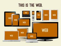 Mobile responsive web design allows a website to be viewed on any browser. One web design, multiple platforms. Web Design Moderne, Web Design Blog, Web Design Basics, Professional Web Design, Website Design Company, Web Design Services, Web Design Trends, Design Websites, Responsive Web Design