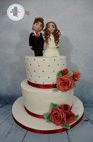 Cake Design Macaron, Wedding Cakes, Desserts, Food, Design, Postres, Deserts, Cake Wedding, Dessert