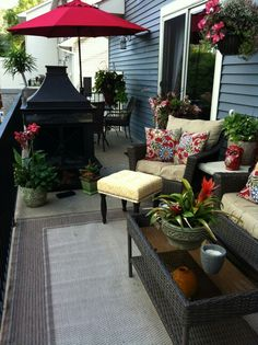 deck decorating ideas on pinterest outdoor ottomans deck decorating