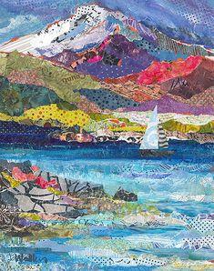 Original mixed media paintings by Oregon artist, Shelli Walters.