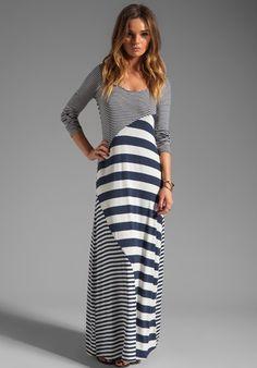 longsleeve Maxis | striped long sleeve maxi