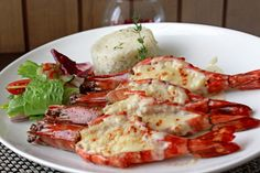 For you seafood lover, enjoy the delights of fresh cheesy Jumbo King Prawn, grilled with thermidor sauce, served with green salad and authentic pilaf rice. Available at Mezzanine Restaurant and The Lounge only Rp 165,000++/portion. Valid from September to October 2014.  For more info & RSVP  please call +6221-29215999