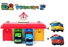 Tayo The Little Bus [Talking Bus Depot Centre Playset-Included Tayo & Rogi + Gani & Rani] : Korean TV Animation Toy