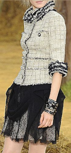 Chanel. This is basically a perfect outfit.