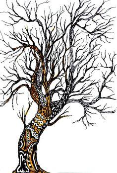 Zentangles tree