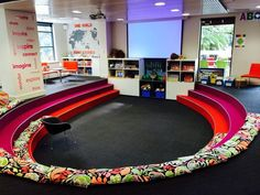 """""""@RichardsonLiza: Great #space2learn! """"@ZeinaChalich: Check out this research centre learning space pic.twitter.com/xQ1aIMiB24"""""""" I want one!!!:"""