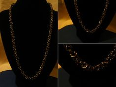 Chainmallie Hand Crafted Bronze Colour Plated Non Tarnish Wire Necklace, £10.00