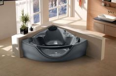 corner hot tub spa.  2499 98 CLICK IMAGE TWICE FOR UPDATED PRICING AND INFO Computerized Whirlpool Jacuzzi Bath Hot Tub W Hydro Therapy Jets See More Tubs At 2 Person Bathtub Corner Spa Massage