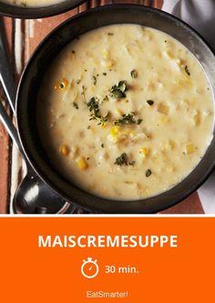 Maiscremesuppe - smarter - Zeit: 30 Min. | eatsmarter.de