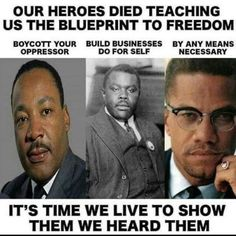 Our heroes died teaching us the blueprint to freedom. It's time we live to show them we heard them We Are The World, In This World, Black Art, By Any Means Necessary, Black History Facts, Black History Month People, Malcolm X, Black Pride, African American History