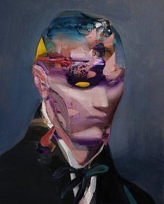 "Saatchi Art Artist Daniel Maczynski; Painting, ""the thinker"" #art"