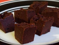 Raw Vegan Nut-Free Chocolate Fudge--Haven't tried it yet! But I love soaked dates--I usually soak mine over night.