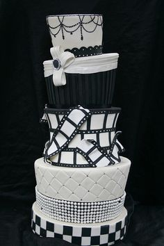 Hollywood Wedding Cake DisplayOld Hollywood themed sweet 16 cake by me    My work   Pinterest  . Old Hollywood Wedding Cakes. Home Design Ideas