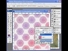 Digital Scrapbooking Tutorials - Mask Overlays To Make Papers with Photoshop