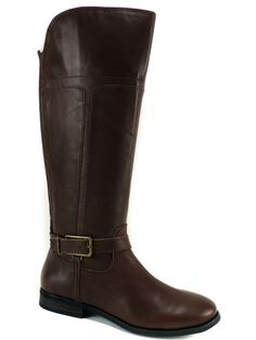 Marc Fisher Women's Aysha Tall Riding Boots Tan Brown Size 9 (B, M) #MarcFisher #KneeHighBoots #DressCasualRiding