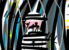 """behönd the black bars""  - Iipo Hanhela"