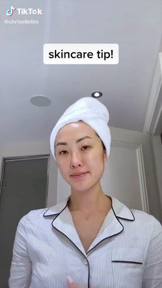 asian skincare tips tiktok by tiktoker chrisellelim watch the video beauty beautytips beautyskincare beautyproducts skincare skincareroutine skincaretips skincareproducts koreanskincareroutine koreanskincare Beauty Tips For Glowing Skin, Clear Skin Tips, Beauty Skin, Beauty Makeup, Face Beauty, Beauty Care, Diy Beauty, Makeup Tips, Eye Makeup