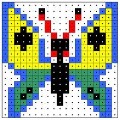 KleuterDigitaal - wb kralenplank vlinder 02