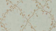 Roussillon Eau de Nil wallpaper by Colefax and Fowler