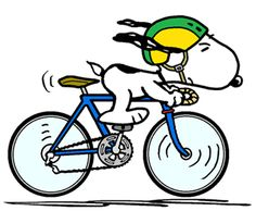 Snoopy - The World Famous Tour de France Rider (smaller) Charlie Brown Y Snoopy, Snoopy Love, Snoopy And Woodstock, Images Snoopy, Snoopy Pictures, Bicycle Tattoo, Bicycle Art, Bicycle Design, Peanuts Cartoon
