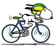 Snoopy - The World Famous Tour de France Rider (smaller)
