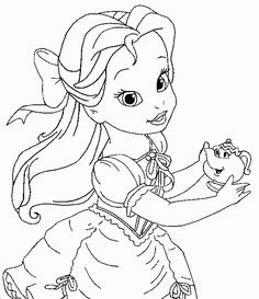 imagenes de princesas bebes para pintar  samanthaparty
