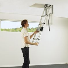 retractable loft ladders - Google Search