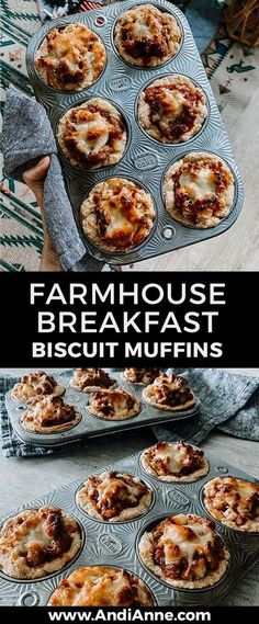 Here is an incredibly delicious and amazing breakfast sausage and egg biscuit muffins recipe that you will make again and again! It's the perfect brunch or weekend recipe. #breakfastmuffins #sausagemuffin #eggbreakfastmuffin #egg #biscuit
