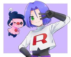 Team Rocket James, James Pokemon, Equipe Rocket, Pokemon Team Rocket, Sailor Mars, Sailor Venus, Nintendo Characters, Manga Books, Anime Princess