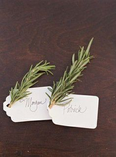 Maybe with Lavender? Or Rosemary in flower... so simple & lovely looking, and fresh smelling too :-)
