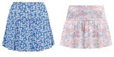 Even&odd Minifalda White Light Blue Coral vestidos y faldas white Minifalda Light Even&Odd coral Blue Noe.Moda