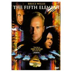 The Fifth Element: Bruce Willis, Milla Jovovich, Gary Oldman, Ian Holm, Chris Tucker, Luke Perry, Brion James, Tommy 'Tiny' Lister, Lee Evans, Charlie Creed-Miles, Tricky, John Neville, Thierry Arbogast, Luc Besson, Sylvie Landra, Iain Smith, John A. Amicarella, Patrice Ledoux, Robert Mark Kamen: Movies & TV