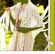 Crochet Knitting Artesanato: xale, cachecol