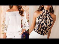 BLUSAS DE MODA 2020 blusas modernas / Fashion Love - YouTube Casual, Diys, Bell Sleeve Top, Fashion Outfits, Clothes, Creando Ideas, Dresses, Women, Youtube